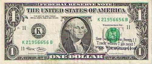 one dollar - make a dollar save a dollar