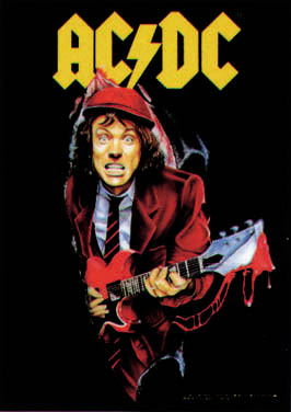 Angus poster - angus young!!!guitar goddd!!!