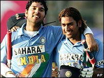 Yuvraj and Dhoni - Next captains??