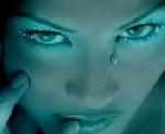 green eyes - women green