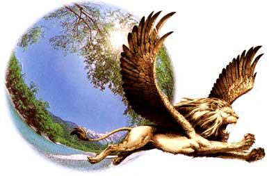 Tianshi Logo - Tianshi means Sky Lion