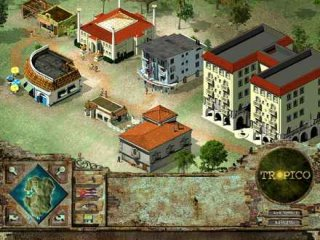 tropico - there is your lot on the island,in this photo apears the market, casino, a cabaret and a complex apartments.