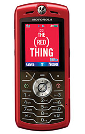 Motorola L7 Red - This is a images of Motorola L7 Red