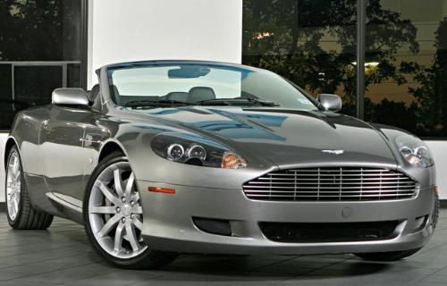 Aston Martin DB9 Convertible Version - This is a Aston Martin DB9 convertible version. Which is also really nice. I really like it. It's cool.