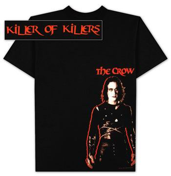 t.shirt the crow - T.SHIRT THE CROW photo