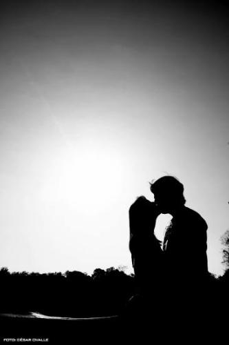 shadow kiss.. background - a background with two lovers in the shadow.. kissing.