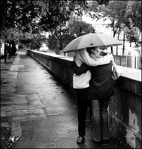 rain - casal a chuva