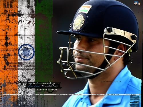 India The Great!!!! - Sachin