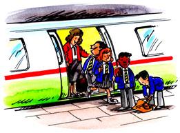 mode of transportation - easiest way of transportation.
