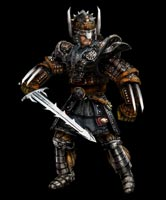 Gothic 2 - hero - Is about our hero from the gothic 2 game. In this picture he is a mercenary equiped with the best armour made from minecrawlers plate, egs and mandible secretion. I love it. What armour do u like?