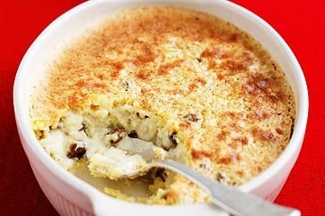 Baked Rice Pudding - Baked rice pudding