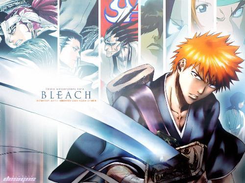 Bleach - This is a image of the manga bleach