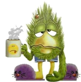 Living without coffee - Do we sometimes feel like this without our morning coffee?