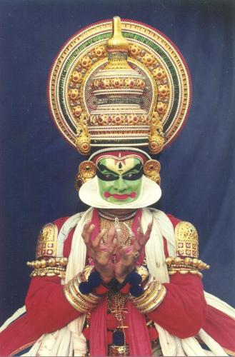 Kathakali - one of the poses in Kathakali