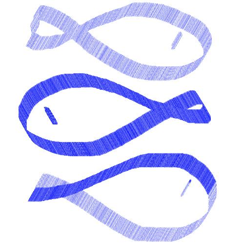 Fish - Blue lined fish