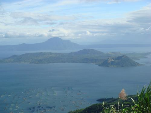 taal volcano - one of the breathetaking places here in the philippines.