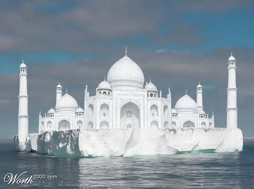 Tajmahal - Beautiful gift for the lovers all around the world. i felt amazing when i first hear that it is the gift of the lover.No one can ever imagine that his/her lover can give them a gift like that. i feel very proud that it is in my country.