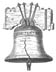Liberty Bell - sketch of the liberty bell, philadelphia, PA