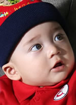 baby - what a cute baby!