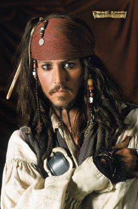 Capt. Jack Sparrow - Jack Sparrow played by Johnny Depp