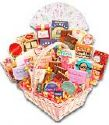 basket full of sweet stuffs - for my hubby