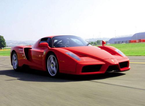 Ferrari Enzo on the Track - Ferrari Enzo.....Breaking all previous records!