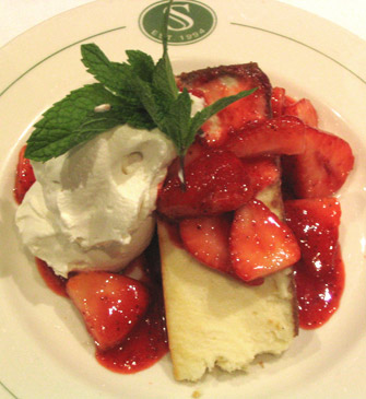 Strawberry Cheesecake - This is an image example for dessert.
