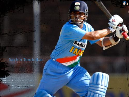 The master blaster fails to get some runs - he not played good in this match