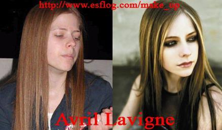 Avril Lavigne without make-up - Avril Lavigne without any make-up