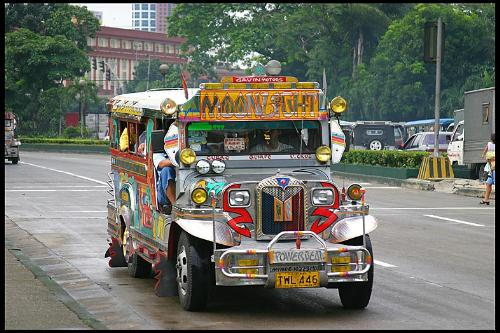 haven't commuted on a jeepney with my foreigner fr - jeepneys