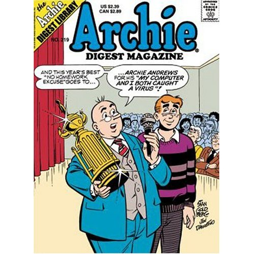 Archie comics - archie and professor something...I forgot the name