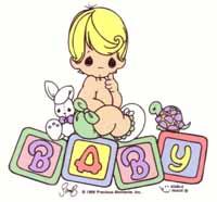 precious moments - baby