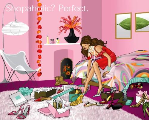 Are you a shopaholic? - Are you a shopaholic or not?