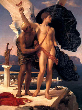 Dedalus and Icarus - A picture of Dedalus and Icarus