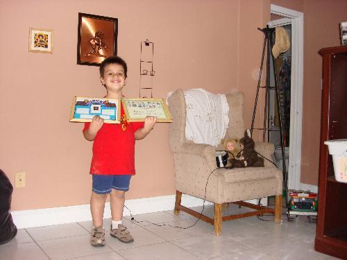 Matt's best student of the month - Matt