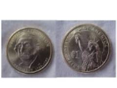 new Dollar coin - This is the front and back of the new 2007 $Dollar$ coin.  I could not figure out how to photo the edge.