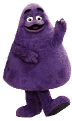 Grimace - Grimace - one of the McDonald's characters