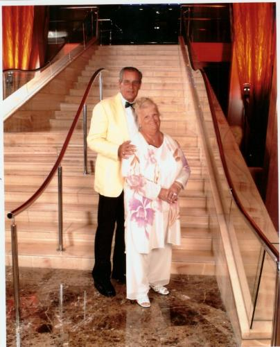 Thom and Carolee Married 42 years - this picture was taken on our 40th wedding anniversay cruise to the Panama Canal