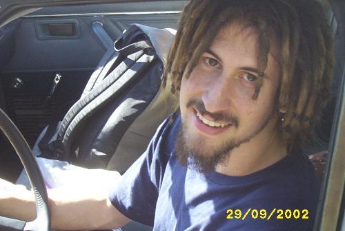 adam with dreaqd locks - a head full of dreads