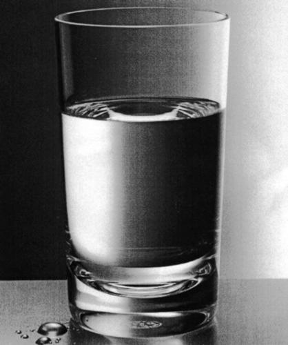 Glass of water - Water is very important.