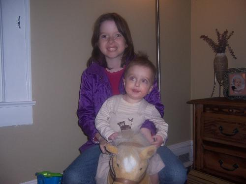 Little Monkey and Baby Girl - These are my angels that need extra help in life!
