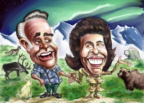 Parents - A caricature of parents..