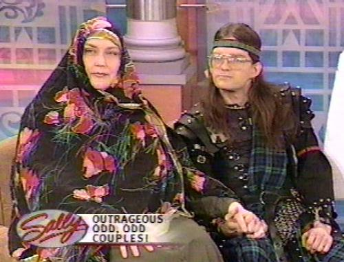 On the Sally Show, shown on air 3/2001 - 2 guests