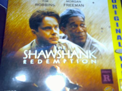 shawshank redemption - one of my favorite film is on my VCD collection - shawshank redemption.