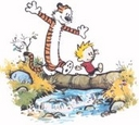 Friends - Calvin and hobbes