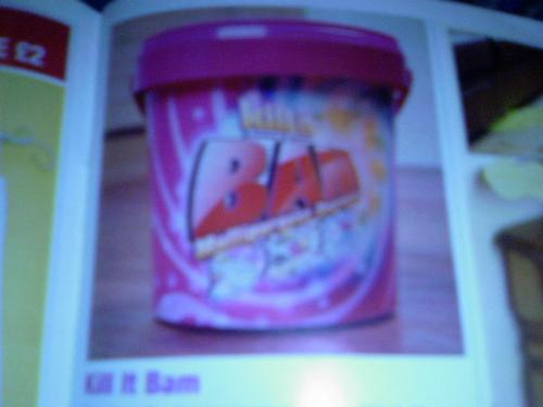 Kill it Bam - Sorry bout the poor quality of the photo!