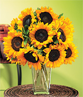 Sunflowers - They smell as good as they look!
