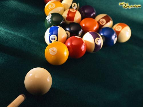 pool,snooker and billiards - POOL,SNOOKER AND BILLIARDS.pool is with full coloured and half-coloured balls.