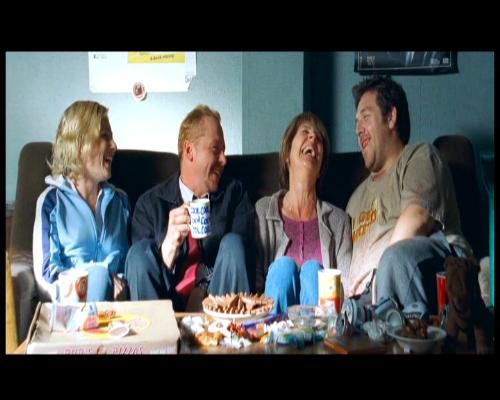 """A nice chat and a cup of tea - Words for all occasions! A scene from Simon Pegg's """"Shaun of the Dead""""."""
