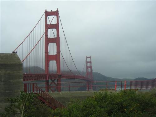 Golden Gate Bridge - Its BIG and pretty red
